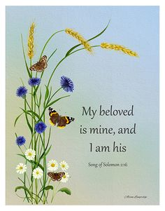 Song of Songs 2:16 Bible verse on Love