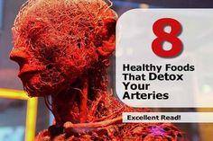 phoenix treasures - 8 Healthy Foods That Detox Your Arteries