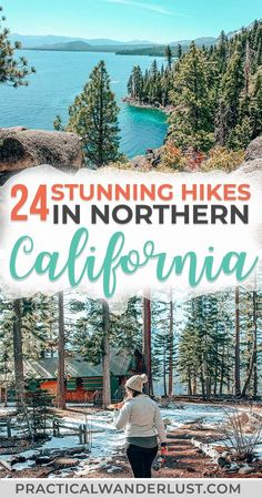 A local's guide to the best Northern California hikes - all within driving distance of San Francisco. I bet you haven't heard of a few of these! Big Sur, Oakland, Lake Tahoe, Big Basin, Redwoods, more redwoods, waterfalls, and beaches. Hiking in California is incredible! #Hiking #California #Travel