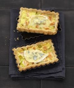 Bleu de Bresse creamy pie, salmon and leek Quiches, Cooking Time, Cooking Recipes, Cooking Chef, How To Cook Eggs, Love Food, Food To Make, Buffet, Yummy Food