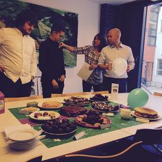 JMA raise money for charity by hosting a #McMillanCoffeeMorning