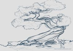 ideas bonsai tree drawing life for 2019 You are in the right place about Tree Drawing ink Here we offer you the most beautiful pictures about the flowe Pine Tattoo, Tattoo Tree, Deer Tattoo, Raven Tattoo, Tree Sketches, Drawing Sketches, Drawings, Drawing Ideas, Life Drawing