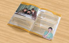 """My first ever brochure design was for SDU in 2007. Slogan by me """"Gaining Knowledge, Achieving Success""""."""