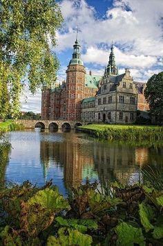 The Frederiksborg Castle in Denmark.