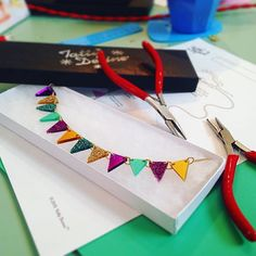 """""""I've had just the best day ever at the @tattydevine bunting workshop today. So much fun and Charlotte and Lauren were excellent chat. I will definitely be back for another soon!"""" - pikeysaurus (IG)"""