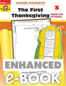 Theme Pockets: First Thanksgiving, Grades 1-3 - E-book: Evan-Moor.com.... amazing..use