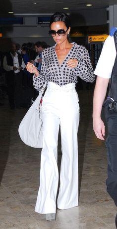 Victoria Beckham pantalon pattes d eph