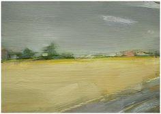 Italian wheat field