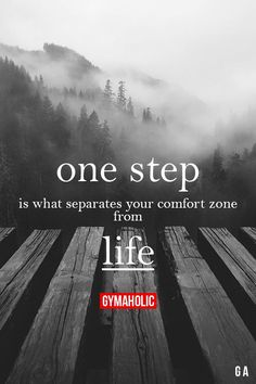 Your Life should be Your comfort Zone. And ONLY yours to choose and live whether others approve of it or not.