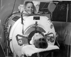 1955 - Atlantic Magazine - What America Looked Like: Polio Children Paralyzed in Iron Lungs