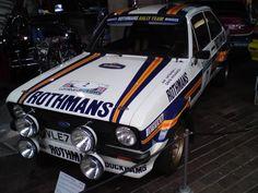 Rothmans Ford Escort Mk2 rally car.