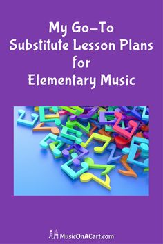 A fun and engaging lesson idea that takes very little time to prepare! - MusicOnACart.com