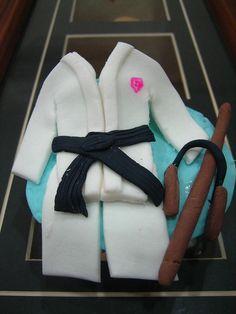 Tae-Kwon-Do Cupcake