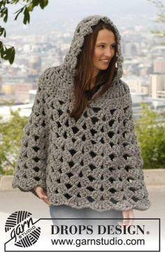 Thick and Neutral Crochet Poncho | Add some warmth to your style!