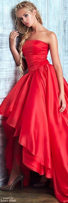 Red dress. For more great pins go to @KaseyBelleFox