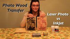 Photo Wood Transfer: Laser vs InkJet Photos
