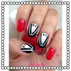 K-pop: SNSD Paparazzi Nails | chichicho~ nail art addicts