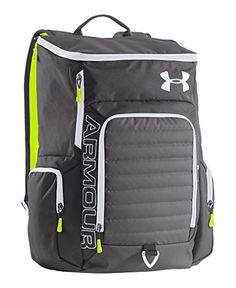 Brian's Daddy Diaper Bag: Under Armour UA VX2-Undeniable Backpack One Size Fits All Graphite Under Armour