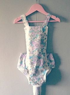 DIY Vintage Swimsuit for Kids - FREE Sewing Pattern and Tutorial