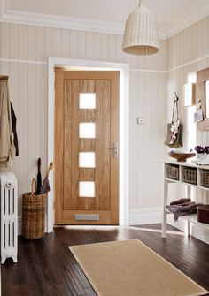 JELD-WEN are the UK's largest manufacturer of high quality timber interior and exterior doors, windows and stairs Oak Doors, Entry Doors, Entrance, Exterior Doors, Interior And Exterior, Glazed External Doors, Doors Online, Tall Cabinet Storage, Beautiful Homes
