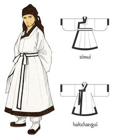I prepare to make the second Hanbok art book about men's costume in Joseon Dynasty. Copyright ⓒ 2016 by Glimja All right reserved You can find Hanbok ArtBook 2 Korean Traditional Clothes, Traditional Fashion, Traditional Dresses, Korean Hanbok, Korean Aesthetic, Korean Outfits, Men's Outfits, Gowns With Sleeves, Soyeon