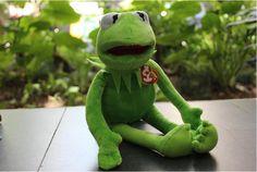 2016 Hot Sale 40cm Kermit Plush Toys Sesame Street Doll Stuffed Animal Kermit Toy Plush Frog Doll