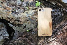 JuJuFire. Oak. The Standard case. Natural heart. Love nature.