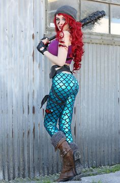 Character: Ariel (The Little Survivor) / From: The Walking Dead X Disney Princesses / Cosplay Model: SuperMaryFace / Photographer: Mike Batz