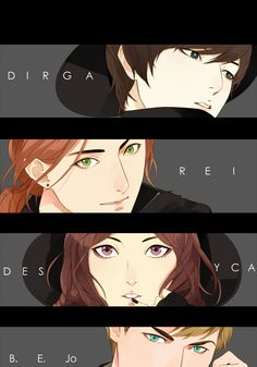 """Characters of """"304th STudy Room"""" Indonesian Webtoon by Felicia Huang.  I LOVE IT."""