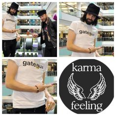 Sergio Pizzorno from Kasabian in one of our bracelets.