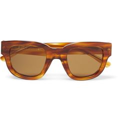 <a href='http://www.mrporter.com/mens/Designers/Acne_Studios'>Acne Studios</a>' sunglasses are expertly handcrafted from acetate in a classic and versatile light-brown hue. The cool, square shape is ideal for adding angular definition to rounder faces. Store them in the accompanying black leather case when travelling.
