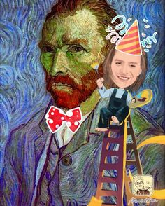 Today a genius of Post-impressionism and pioneer of modern art was born. We commemorate his birthday by revisiting his self-portrait and adding our own MomentCam artistic touch!  #vangogh #birthday #postimpressionism #modernart #selfportrait #art #artistic #momentcam #caricature #cartoon #colors #paint #painting