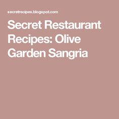 The Secret Chef has collected The Olive Garden recipes, Red Lobster recipes, Wendys recipes and many more.