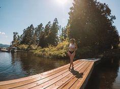 Steps to a bikini body: Have a body Have a bikini Put said bikini on said body Ta-da! Visit Vancouver, Vancouver Island, Bikini Bodies, Deck, Canada, Victoria, Explore, Bikinis, Outdoor Decor