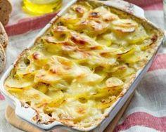 Gratin de pommes de terre et jambon à la ciboulette : http://www.fourchette-et-bikini.fr/recettes/recettes-minceur/gratin-de-pommes-de-terre-et-jambon-la-ciboulette.html