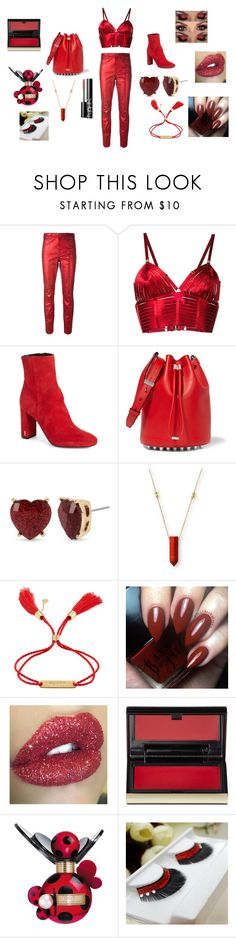 """""""Aries Collection: Jeans"""" by skyelynnalexis ❤ liked on Polyvore featuring Étoile Isabel Marant, Bordelle, Yves Saint Laurent, Alexander Wang, Betsey Johnson, Alex and Ani, Chloé, Kevyn Aucoin, Marc Jacobs and NARS Cosmetics"""