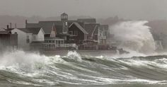 Scituate Harbor Hurricane photo by David Ryan, Boston Globe. Great Places, Places To See, Power Photos, Storm Surge, Wild Weather, Sea Level Rise, Hurricane Sandy, Severe Weather, Extreme Weather