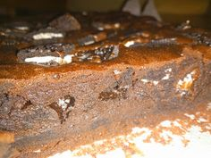 La Alquimista: brownie de chocolate y galletas oreo