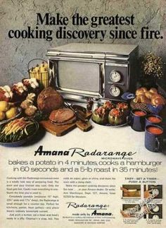 """...How I wanted one of the original stainless steel """"RadarRange""""...my sister had one but refused to sell it to me..."""