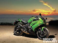 Kawasaki Ninja 650 First Ride Static