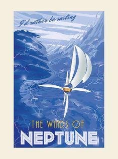 T R A V E L ☄ #spacetravel #Neptune