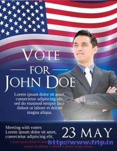 Election Flyer Template Microsoft Word Free Political Campaign - Political campaign brochure template