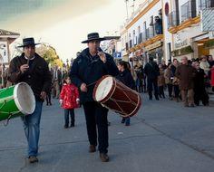 Peregrinación Hdad. San Juan del Puerto a Almonte con motivo de su Bicentenario.