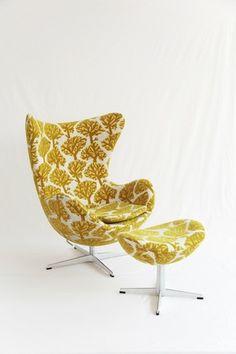 mina perhonen fogland X EGG chair