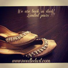 indian wedding bridal shoes