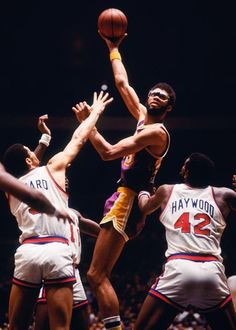Kareem Abdul-Jabbar Los Angeles Lakers New York Knicks