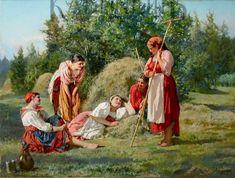 Голынский А.В. Отдых на сенокосе