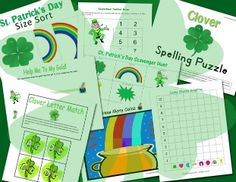 St. Patrick's Day - Activities