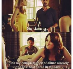 Easy A Easy A Quotes, Tv Quotes, I Smile, Make Me Smile, Movies Showing, Movies And Tv Shows, Netflix, Book Tv, Thing 1