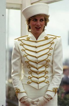 She can get away with it because she's Princess Di.  1987